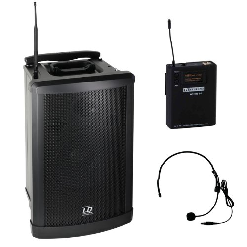 LD Systems Roadman 102 HS Mobiler PA Lautsprecher mit Headset