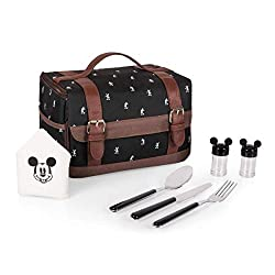 Disney Classics Mickey Mouse Insulated Lunch Cooler with Service for One on Amazon. Best Disney Christmas Gifts