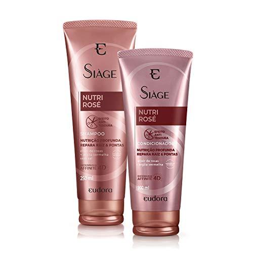 Kit Siàge Nutri Rose Shampoo + Condicionador Eudora