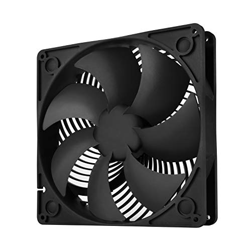 Silverstone Air Penetrator AP183 180mm PWM Computer Case Fan 400~1500RPM Dual Ball Bearing with 32mm Thickness, SST-AP183