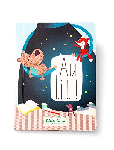 Livre bébé Au lit ! en français - Lilliputiens
