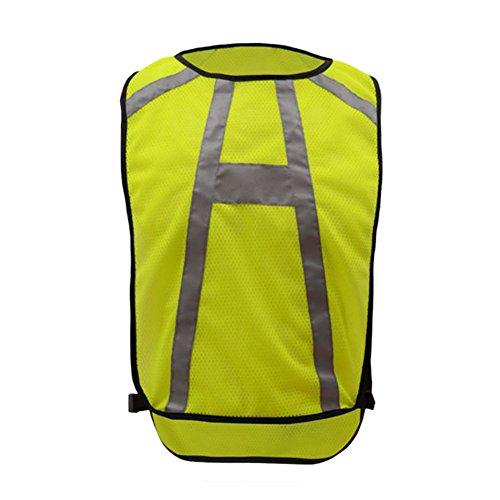 Meijunter Nuit Cyclisme Réfléchissant Gilet Fonctionnement sécurité Gilet Tops De Plein air Protéger Le matériel