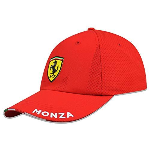 Ferrari Scuderia F1 2020 Special Edition Monza - Gorra de béisbol, color rojo