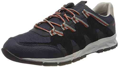 Geox Mens U Delray B Sneaker, Navy,42 EU