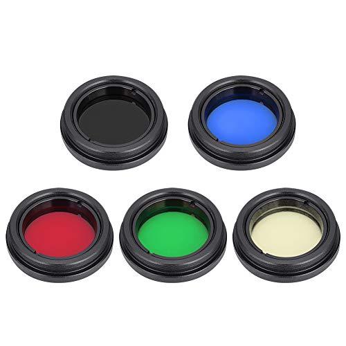"""LSAR 31,7 mm (1,25""""), filtro telescopico resistente e durevole, filtro oculare con filettatura standard per telescopio"""