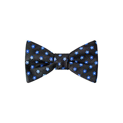 Forget Me Not Bow Tie by Masonic Revival (Standard Self-Tied Black)