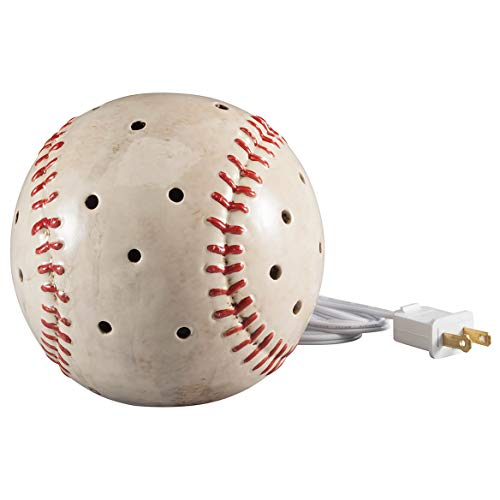 DEI Baseball Sports Plug in Tabletop Night Light,White
