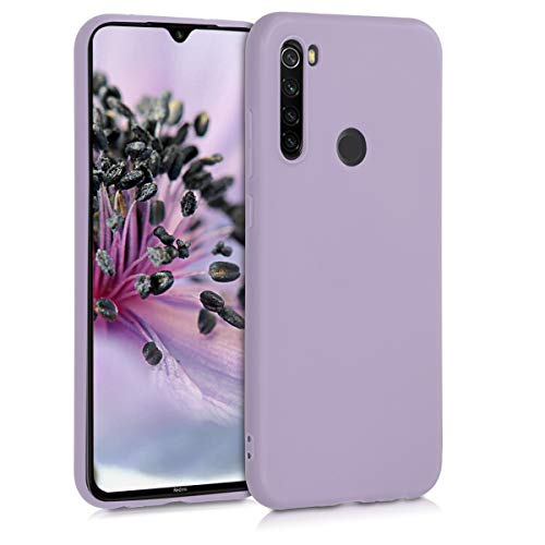 kwmobile Cover Compatibile con Xiaomi Redmi Note 8T - Custodia in Silicone TPU - Backcover Protezione Posteriore- Lavanda