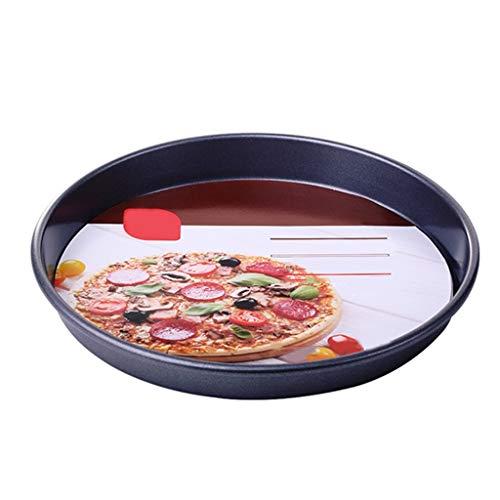 ZHANGXIAO Bakwerk, Home Ronde Pizzaplaat Oven Bakplaat Bakgereedschap Niet Sticky Koolstofstaal