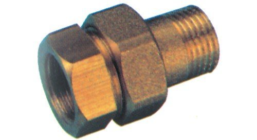 Unión recta latón macho-hembra 341 A 1-1,4 accesorios hidráulicos