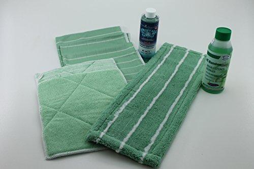 Bambus-Kristall 7er Set mit Reiniger und Wischmop Plus Kristall-Glanz 200 ml