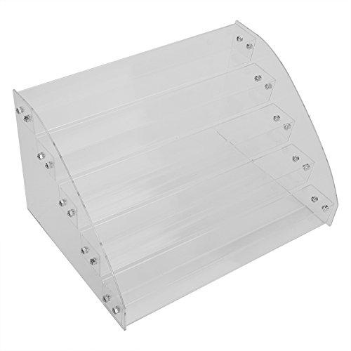 Opbergdoos van acryl voor zonnebril of schoonheidsproducten, geen plafond, eenvoudig te monteren, meerdere lagen (optioneel)