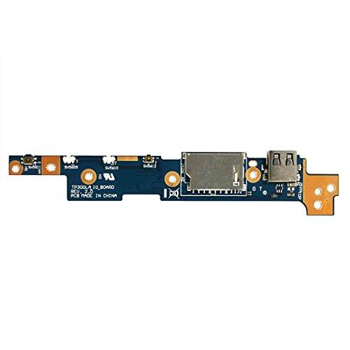 Gintai - Pulsante Interruttore di Alimentazione USB di Ricambio per ASUS TP300 TP300L TP300LA TP300LD TP300S