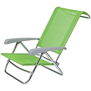 Bertoni Playa Textilene Fashion Beach Chair, Apple Green, Single Size:Cnsrd