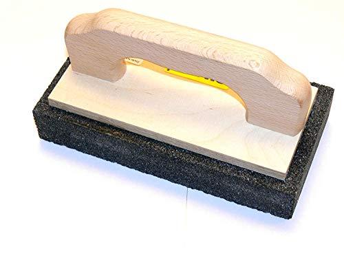 Zische Rutscher Schleifstein mit Griff, 200 x 100 x 30 mm, für Beton und Estrich