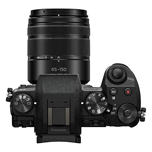 41VX1F0Y0cL - PANASONIC Lumix G7 4K Digital Mirrorless Camera Bundle with Lumix G Vario 14-42mm and 45-150mm Lenses, 16MP, 3-Inch Touch LCD, DMC-G7WK (USA Black)