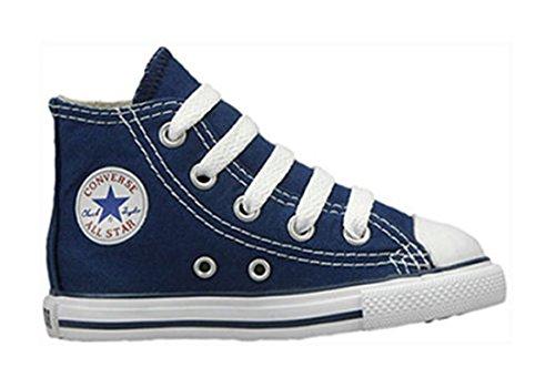 Converse Chuck Taylor All Star Core Hi, Unisex Baby Sneaker, Blau - Blau - Blau - Größe: 4 UK