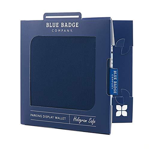 Blue Badge Company NVY-NVDR-6162 - Funda para tarjetas de aparcamiento para discapacitados, color azul
