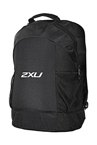 2x u Unisex Speed Rucksack, Unisex, schwarz/schwarz, Einheitsgröße