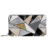マネークリップ財布付き財布クレジットカードホルダーギフト付きポケット財布本革漫画財布男性と女性のために大理石