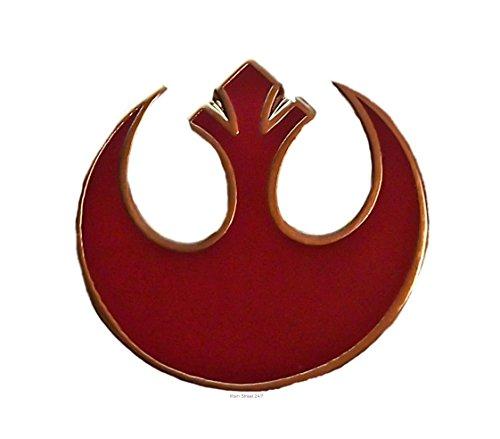 Star Wars REBEL ALLIANCE Sm RED Logo Pin...