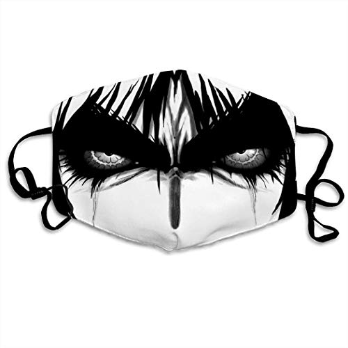 Mundschutz Anime Boy Basilisk Hip Hop Face Cover, Roleplaying Japanese Anime Cartoon Style Face Cover, Washable and Reusable Mouth Cover