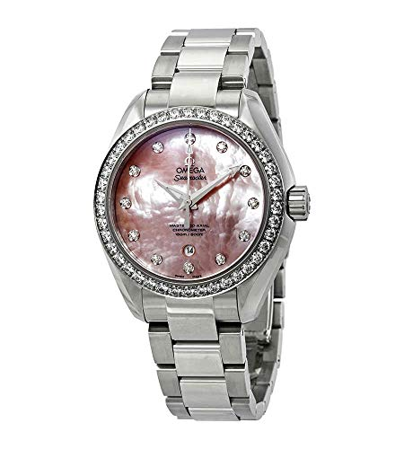 Omega Seamaster Aqua Terra Reloj automático de mujer con diamante 231.15.34.20.57.003