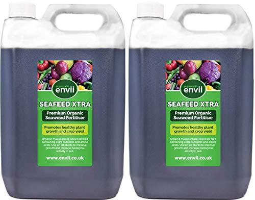 Envii Seafeed Xtra – Premium bioaktiver Seetang-Flüssigdünger und Wachstumsbeschleuniger (10L)