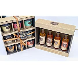 Coffee Lover Gift Set – Assorted Coffee Flavour Selection and Coffee Syrup Bundle Gift Set
