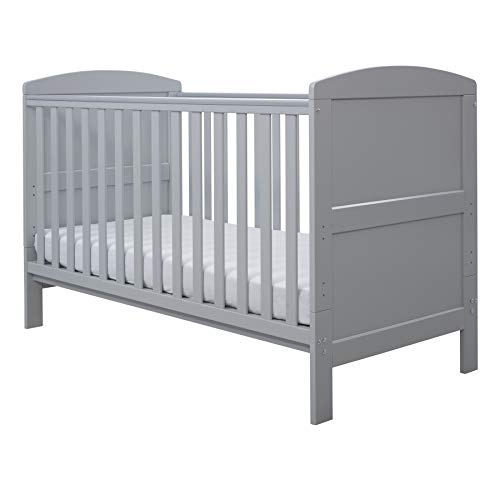 Ickle Bubba Coleby Cot Bed, Grey, 1 Piece