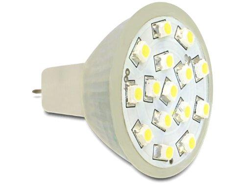 Delock MR11LED 1.0W 1W GU4warmweiß Lampe LED