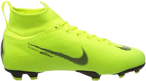 Nike Unisex-Erwachsene Jr Superfly 6 Elite Fg Fußballschuhe, Grün (Volt/Black 701), 38.5 EU