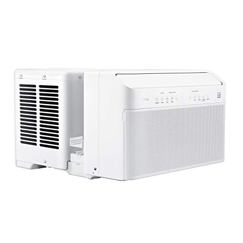 Midea MAW08V1DWT air condtioner 8,000 BTU, U Shaped AC, with Open Window Flexibility, 3-Step Installation, Quiet, Saves 35% Energy, Control with Smartphone, Alexa or Remote, 8000, White