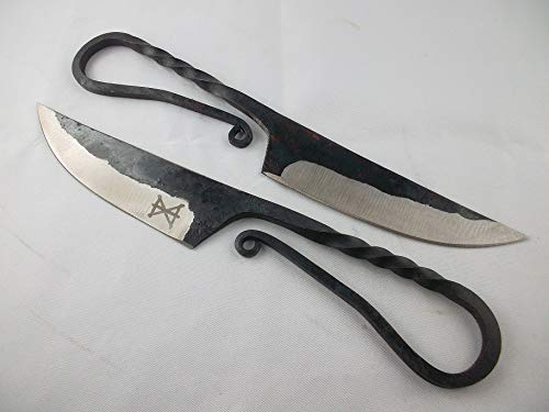 gamsjaga Mittelalter Messer GJ01 Carbonstahl