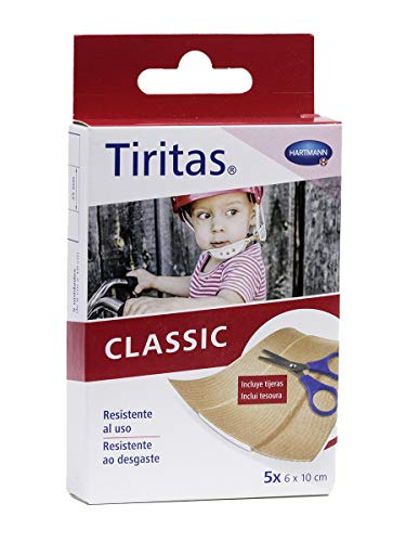 HARTMANN - TIRITAS TELA CLASSIC 6X10 5 UN