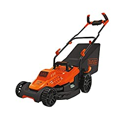 in budget affordable Electric lawn mower BLACK + DECKER 10 Amp 15 inches (BEMW472BH)