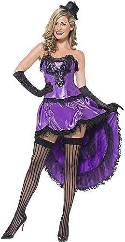 burlesque Costume GlamGoldus lila Größe s