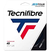 テクニファイバー(Tecnifibre) 硬式テニス ガット 4エス 12m ブラック 1.30mm TFG407