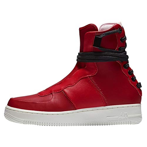 Nike W AF1 Rebel XX, Botas Slouch Mujer, Multicolor (Gym Red/Arctic Pink/Summit White/Black 600), 39 EU