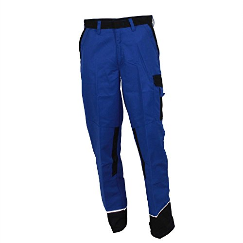 Werkbroek BP WORKWEAR 1609 koningsblauw/zwart maat 44-64, 90-114, 24-28