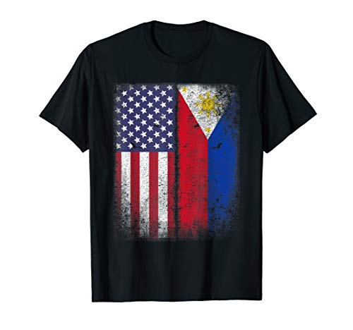 Filipino Roots American Grown Philippines Usa Flag America