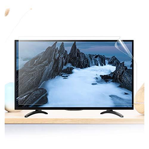 ASPZQ Filtro De Luz Azul Anti Protector Pantalla TV Previene La Fatiga Ocular, CVS, Daño Ocular Crónico para LCD, LED, 4K OLED Y Pantalla Curva, Varios Tamaños
