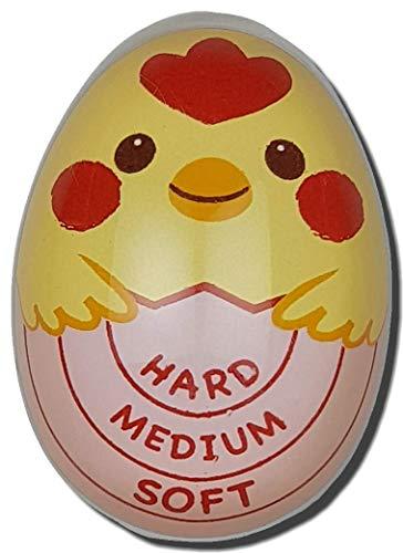 Eieruhr, farbwechselnd, freches Küken für perfekte harte, mittelweiche Eier jedes Mal.