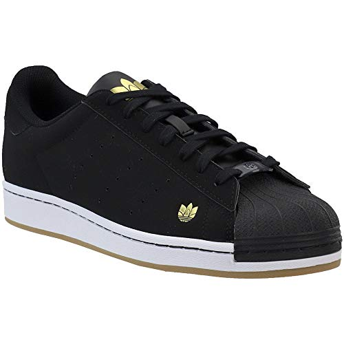 adidas Mens Superstar Pure Lace Up Sneakers Shoes Casual - Black - Size 11.5 D