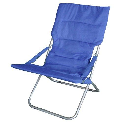Papillon 8043505 - Blu sedia imbottita rilassarsi in metallo