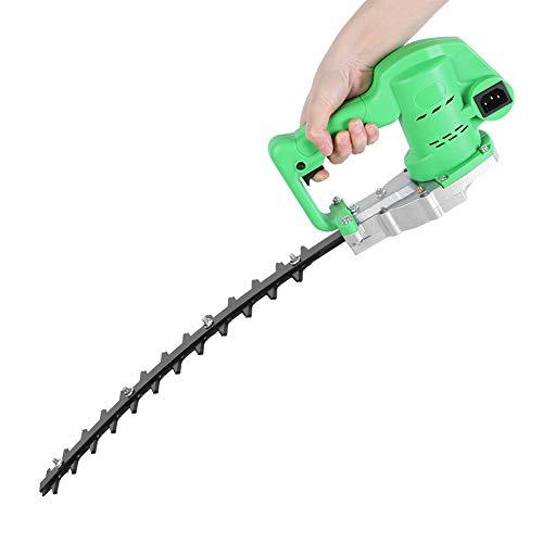 WOUPY Cortasetos, Cortasetos eléctrico de 24 V, Motor de Alta Velocidad para césped para Cinturones Verdes(Cimitarra)