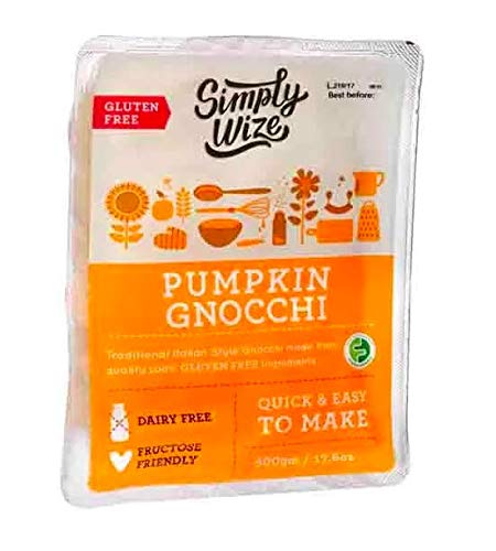 low FODMAP food certified. IBS food. Simply Wize Gluten Free Pumpkin Gnocchi, 500 g