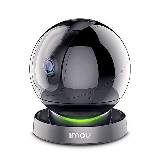 Amazon Alexa認定取得 Imou ネットワークカメラ フルHD1080P ペットカメラ Wi-Fi 監視カメラ ベビー 老人 ペット見守りカメラ スマホ遠隔操作 360°回転 AI人間動作検知 10m暗視撮影 スマート追跡機能 プライバシーマスク リアルタイム双方向音声会話 Ranger2S 3年保証(2.4GHzのWi-Fiだけ対応)