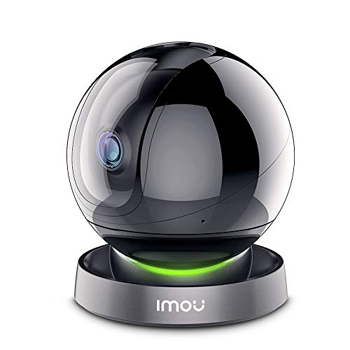 Amazon Alexa認定取得 Imou ネットワークカメラ フルHD1080P ペットカメラ Wi-Fi 監視カメラ ベビー/老人/ペット見守りカメラ スマホ遠隔操作 360°回転 AI人間動作検知 10m暗視撮影 スマート追跡機能 プライバシーマスク リアルタイム双方向音声会話 Ranger2S 3年保証(2.4GHzのWi-Fiだけ対応)