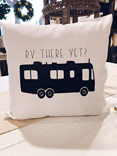 Just588on Throw pillow, Decorative pillow, Pillow Cover -RV there yet